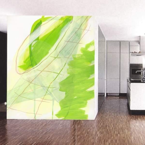 Moderne Wandgestaltung In Einer Kuche